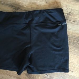Reebok youth spandex shorts